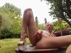 Outdoor Intense Orgasm