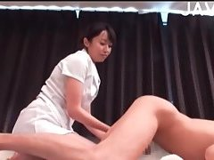 Hot asian chick gets pounded