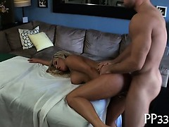 Carnal massage for wild angel