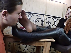Nice Girl Nylon Feet Smelling