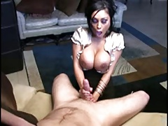POV tit & handjob dirty talk