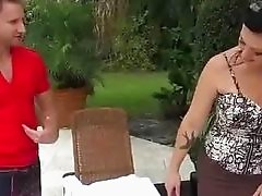 Guy shouldnt left stepmom Gia with mate