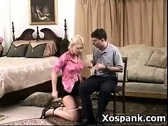 Punishment Loving Chick In Alluring Spanking Girl