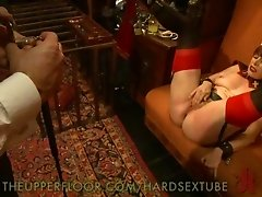 Sluts and whores are dressed up in costumes as they get fucked at this BDSM party. Nurses are fingered and fucked while Angels are tied up at this cra